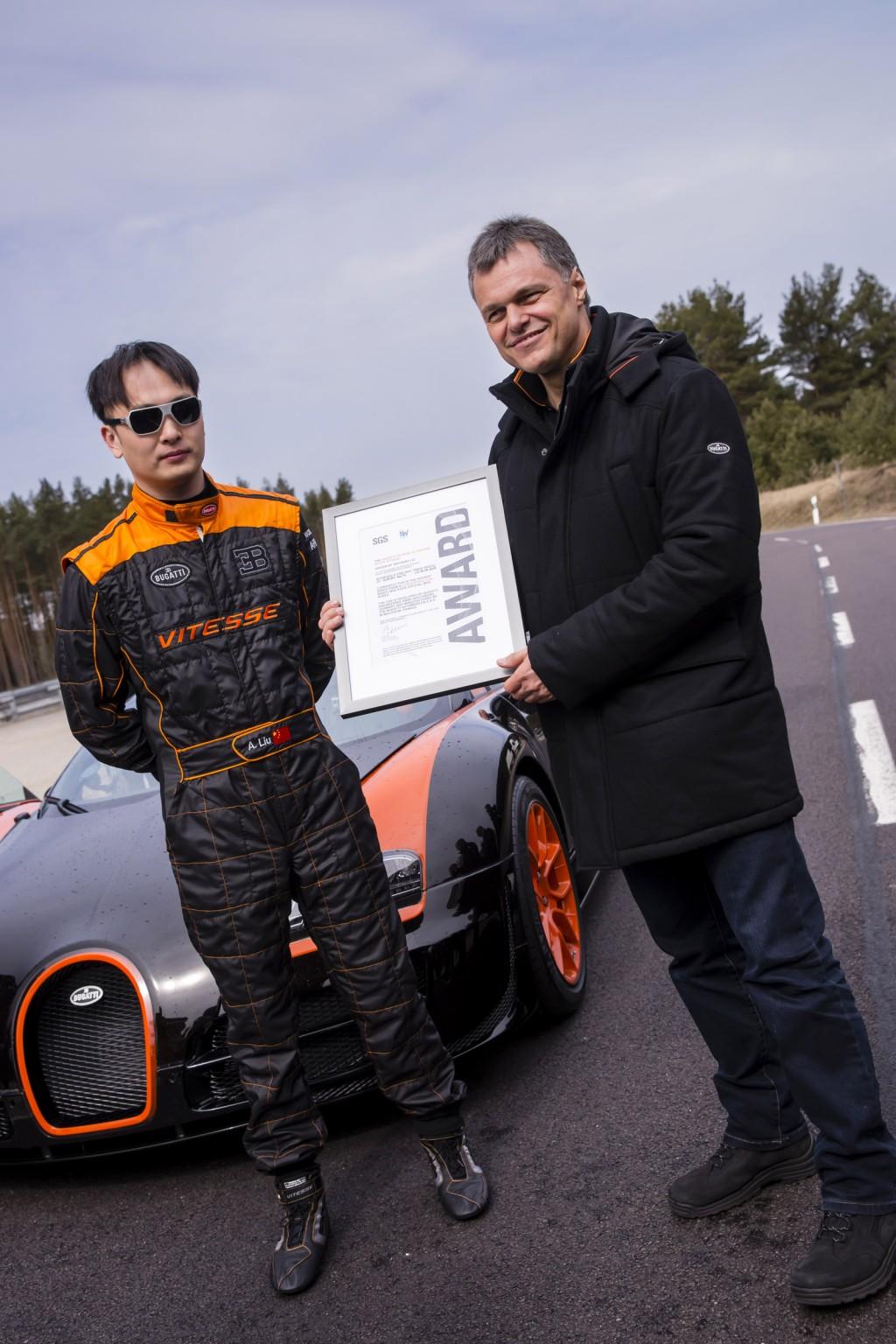 Bugatti Veyron Grand Sport Vitesse WRC David Liu Wolfgang Schreiber