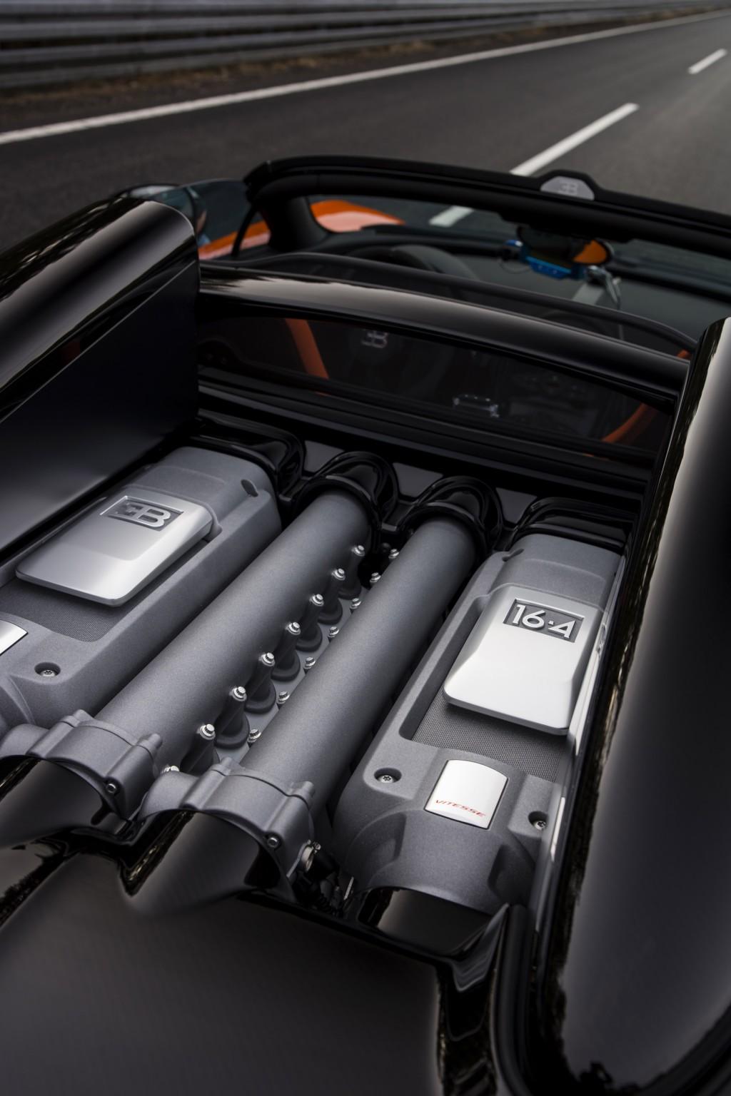 Bugatti Veyron Grand Sport Vitesse WRC Engine
