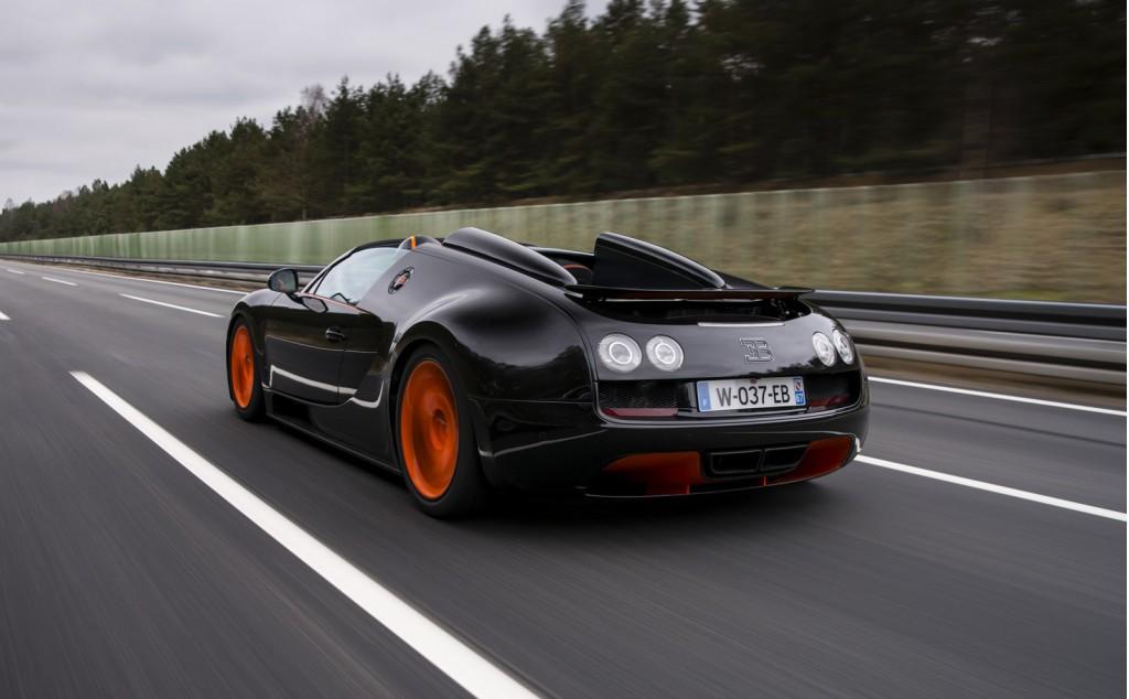 Bugatti Veyron Grand Sport Vitesse WRC Rear