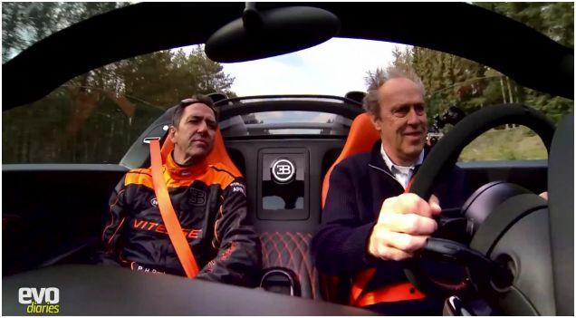 Bugatti Veyron WRC Harry Metcalfe