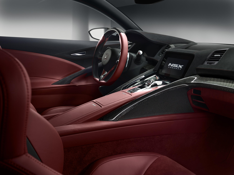 Honda NSX Concept 2013 Interior