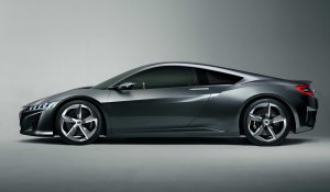 Honda NSX Concept 2013 Profile