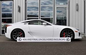 Lexus LFA Last Profile