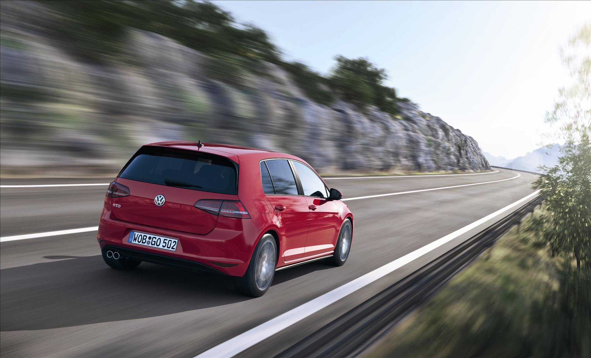 VW Golf GTD 2013 Exhaust