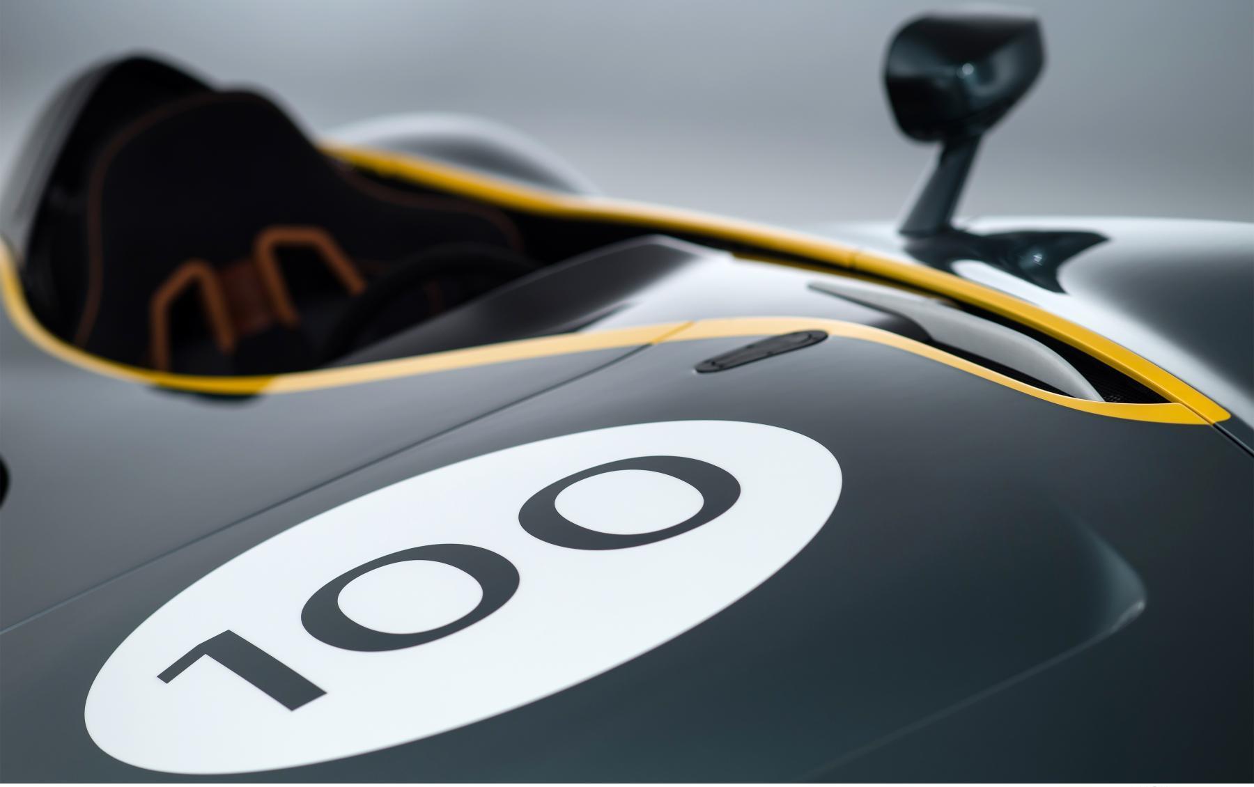 Aston Martin CC100 Bonnet