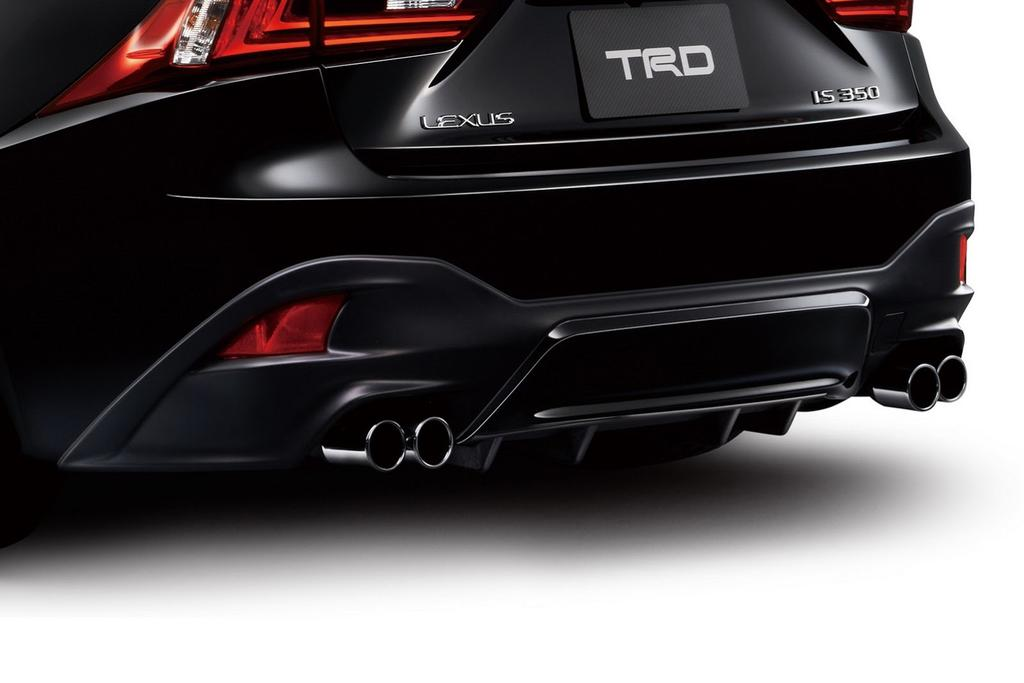 Lexus IS F-Sport 2013 TRD Exhaust