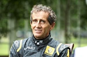 Alain Prost Goodwood Festival of Speed 2013