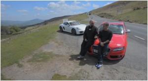 Chris Harris Matt Farah Audi S4 Porsche Cayman Tuned