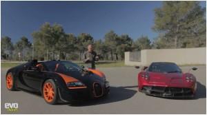 Evo Bugatti Veyron Vitesse Pagani Huayra