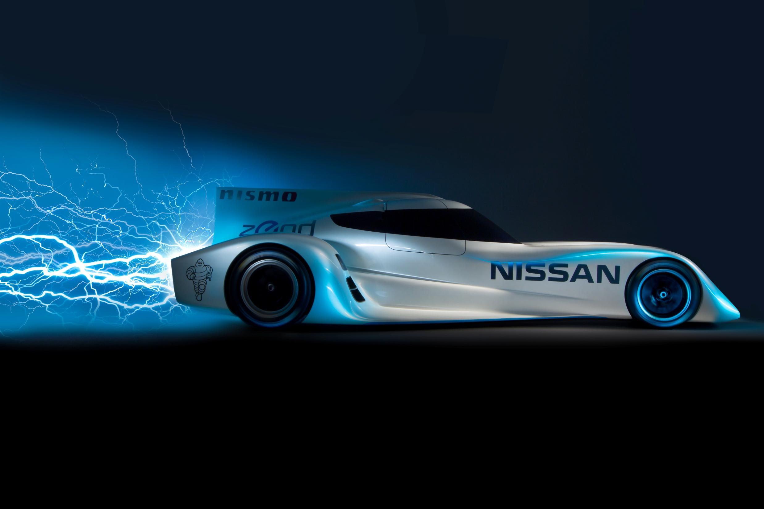 The worlds fastest electric car -  Nissan Zeod Rc Lightning Side