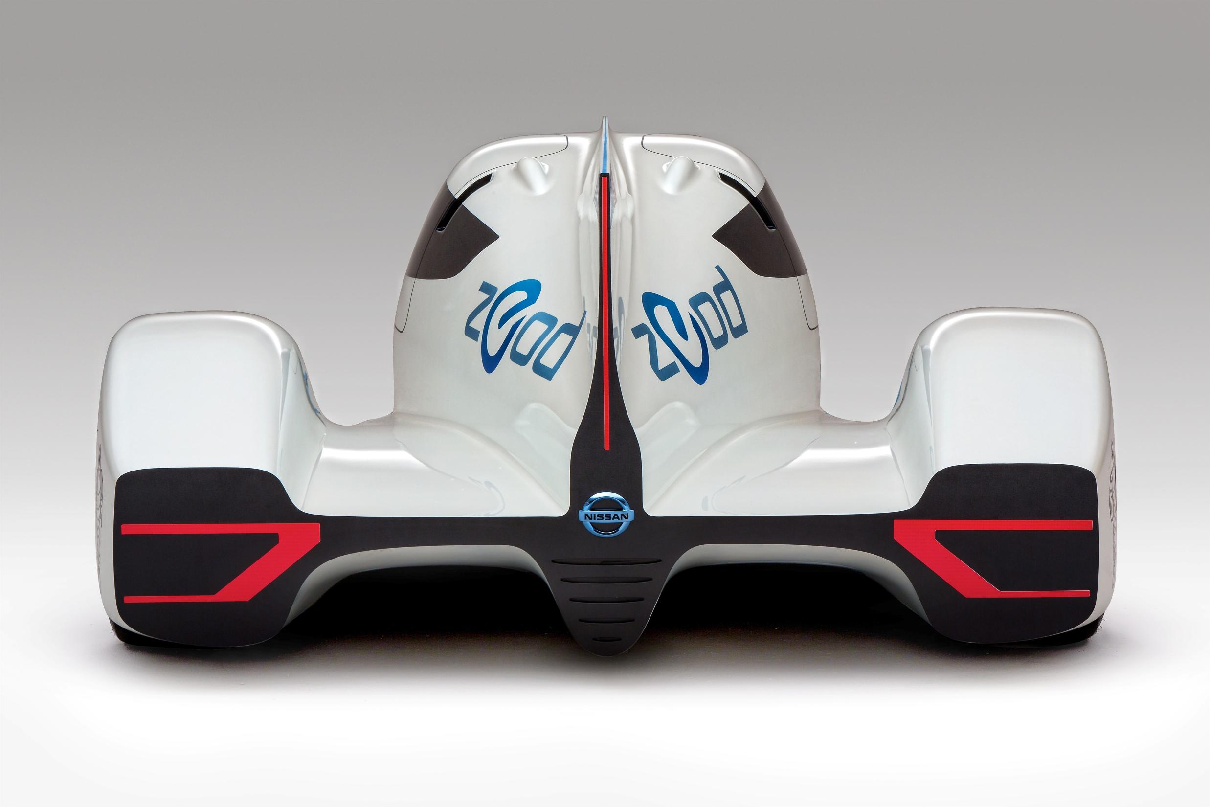 The worlds fastest electric car -  Nissan Zeod Rc Rear