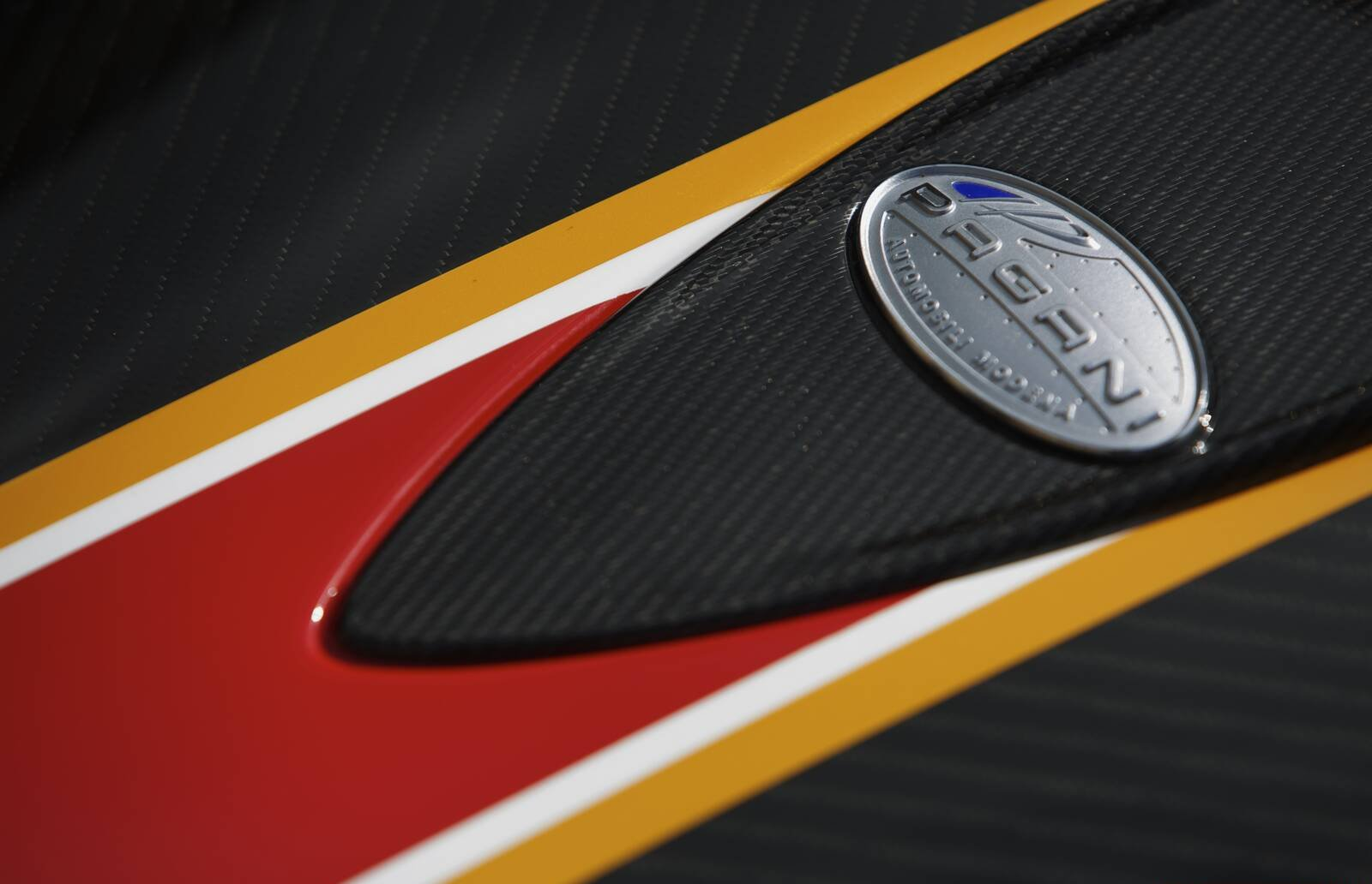 Pagani Zonda Evolucion Badge