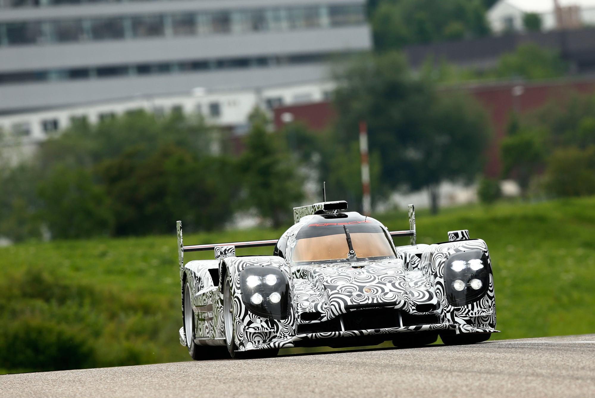 Porsche LMP1 2014 Prototype Livery