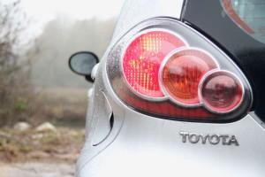 Toyota Aygo Ice Rear Light