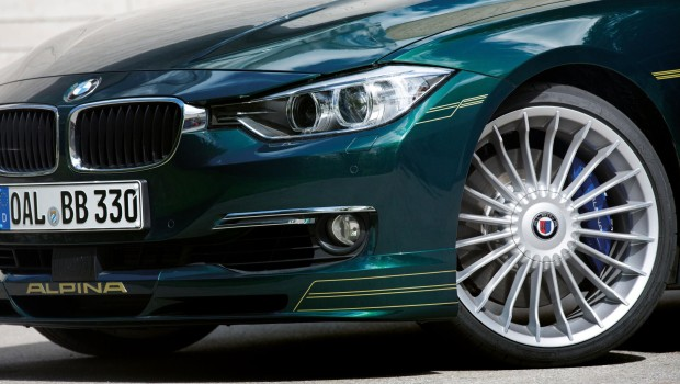 Alpina D3 Front Grille