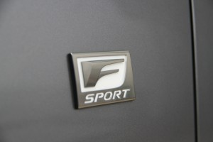 Lexus GS F-Sport Badge