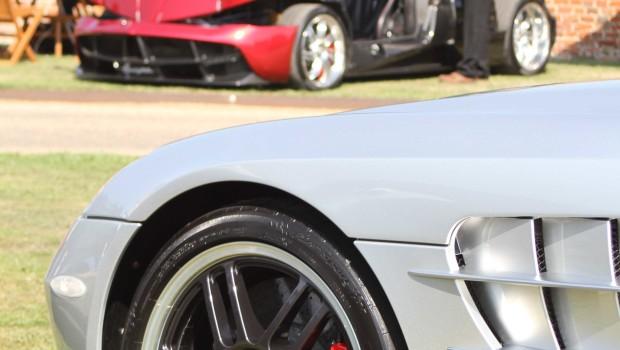 Mercedes McLaren SLR Salon Prive
