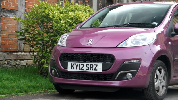 Peugeot 107 Front Featured