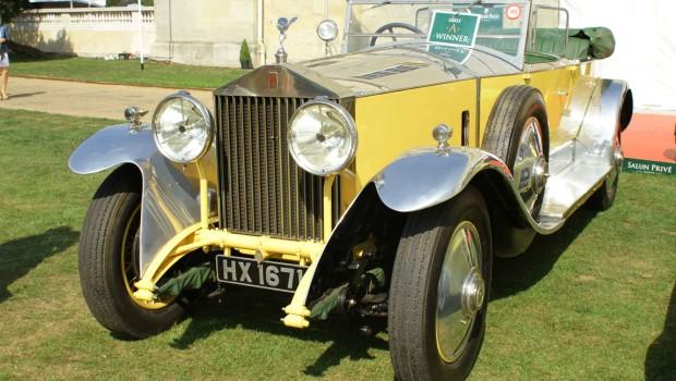 Rolls Royce Springfield Silver Ghost 1926 Salon Prive