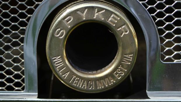 Spyker ExhaustSalon Prive