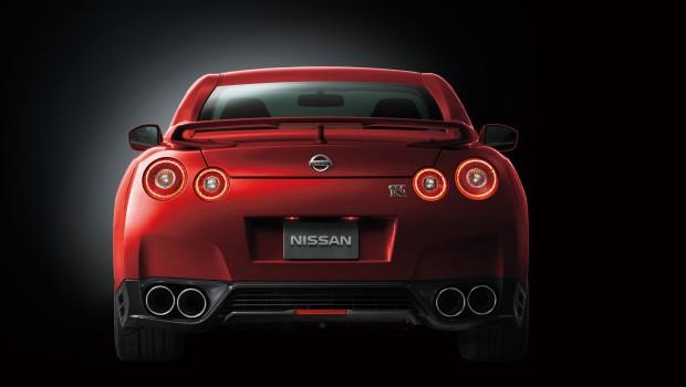 Nissan GTR 2014 Rear