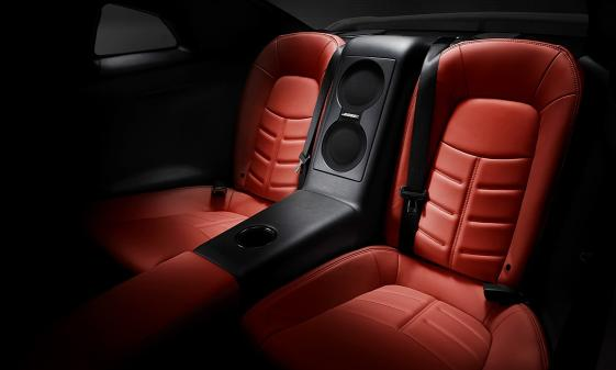 Nissan GTR 2014 Rear Seats