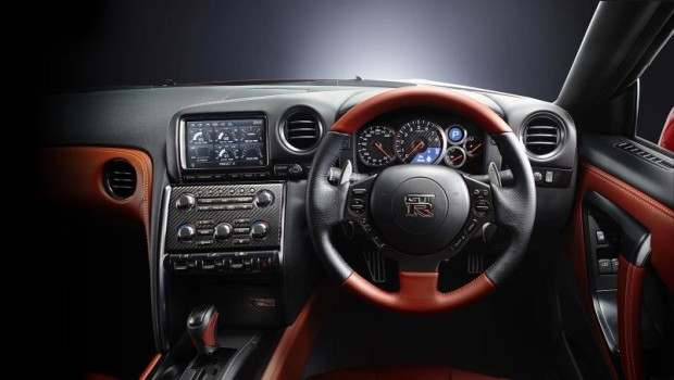 Nissan GTR 2014 Steering Wheel