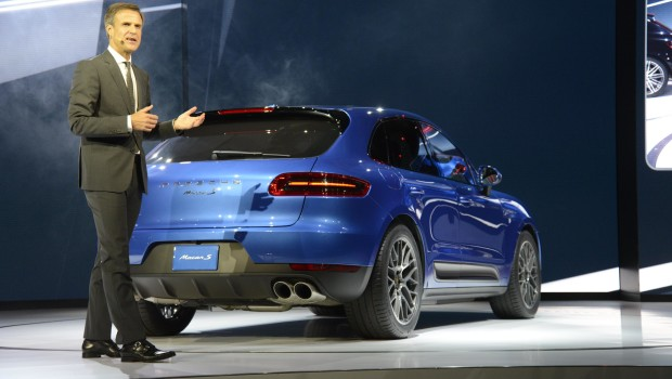 Porsche Macan Reveal LA Rear