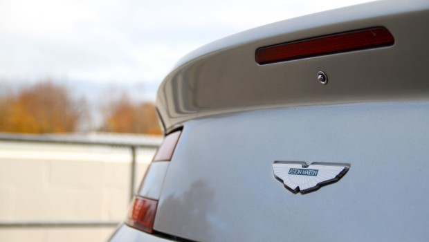 Aston Martin V8 Vantage Badge