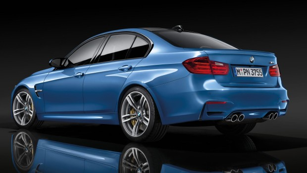 BMW M3 2014 Exhaust