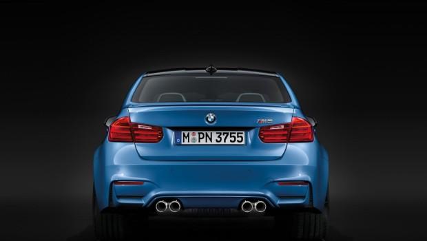 BMW M3 2014 Rear
