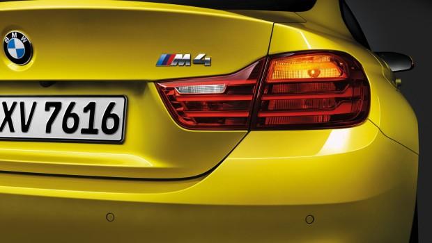 BMW M4 2014 Badge