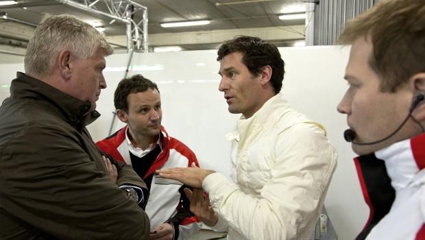 Mark Webber Porsche LMP1 Test 2