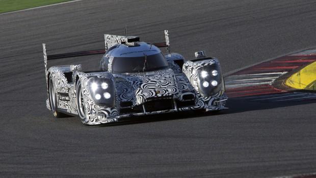 Mark Webber Porsche LMP1 Test 4
