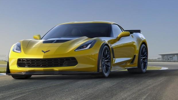 Corvette ZO6 2015 Track Front