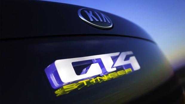 Kia GT4 Stinger Badge