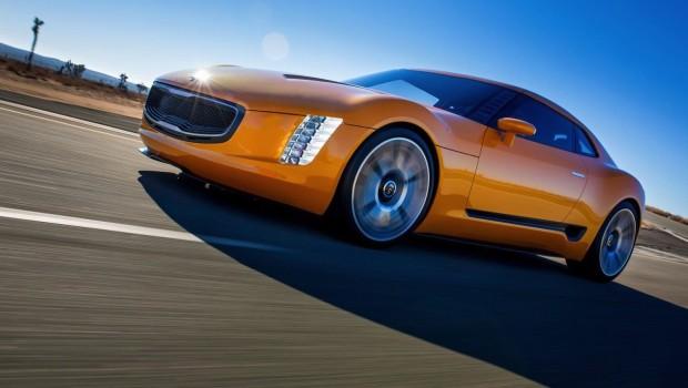 Kia GT4 Stinger Driving