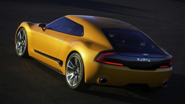 Kia GT4 Stinger Rear