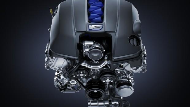 Lexus RC F Engine