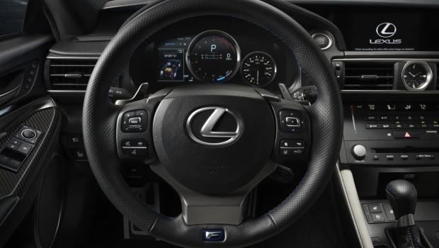 Lexus RC F Steering Wheel