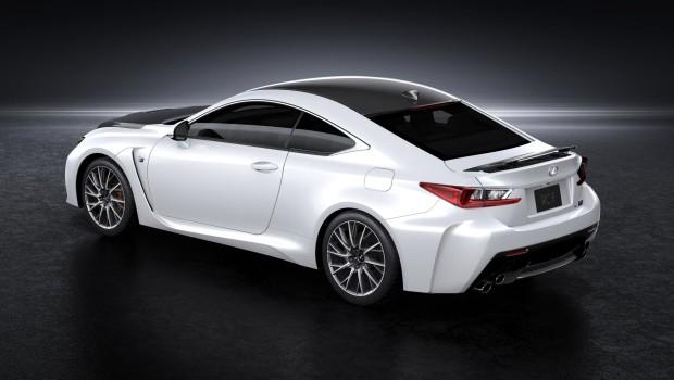 Lexus RC F White