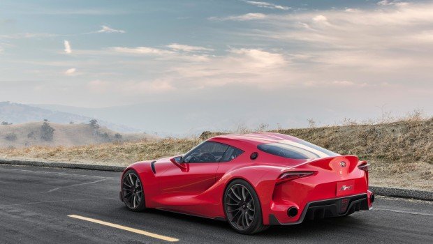 Toyota FT-1 Concept Rear