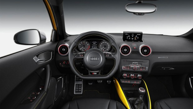 Audi S1 Driving Position