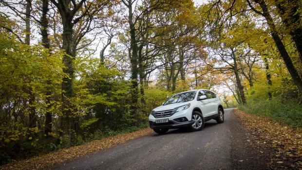 Honda CR-V 1.6 i-DTEC Parked