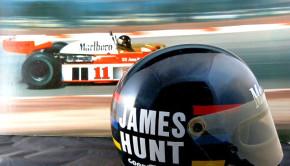 James Hunt's Helmet McLaren