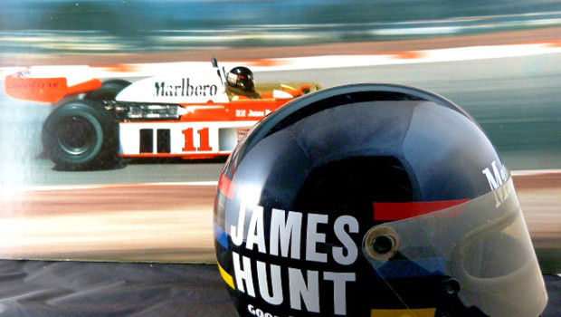 James Hunt's Helmet McLaren