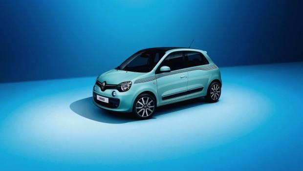 Renault Twingo 2015 Blue