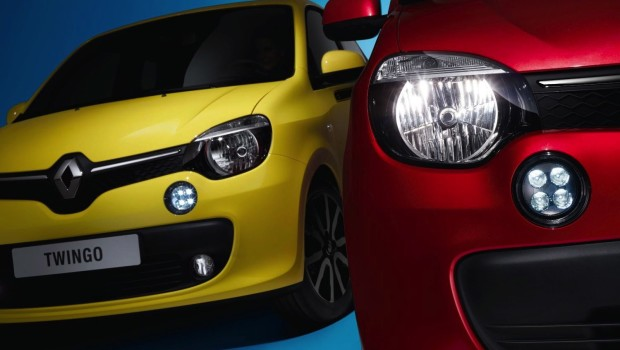 Renault Twingo 2015 Grille