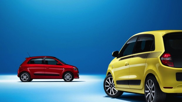 Renault Twingo 2015 Red