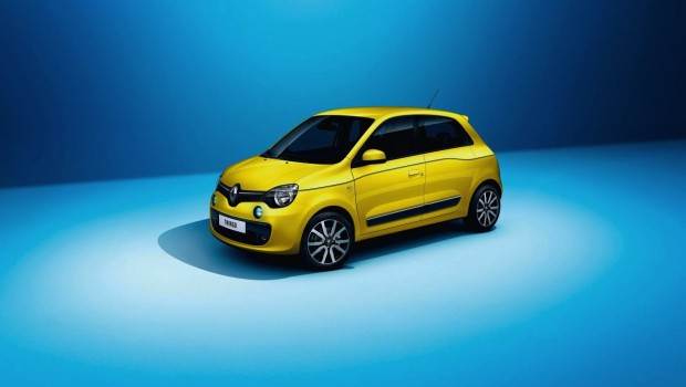 Renault Twingo 2015 Yellow